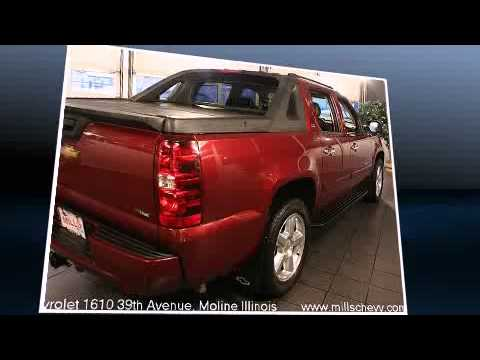 Exceptional Mills Chevrolet Used 2008 Chevy Avalanche LTZ For Sale Davenport IA Moline  IL 21164A.flv