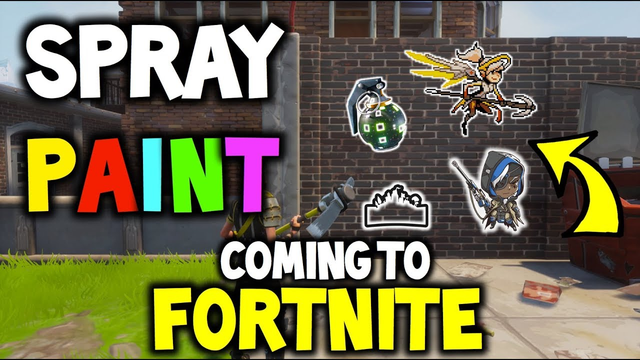 paint your mark in fortnite spray paint coming into fortnite battle royale qna p2 - fortnite new spray paint
