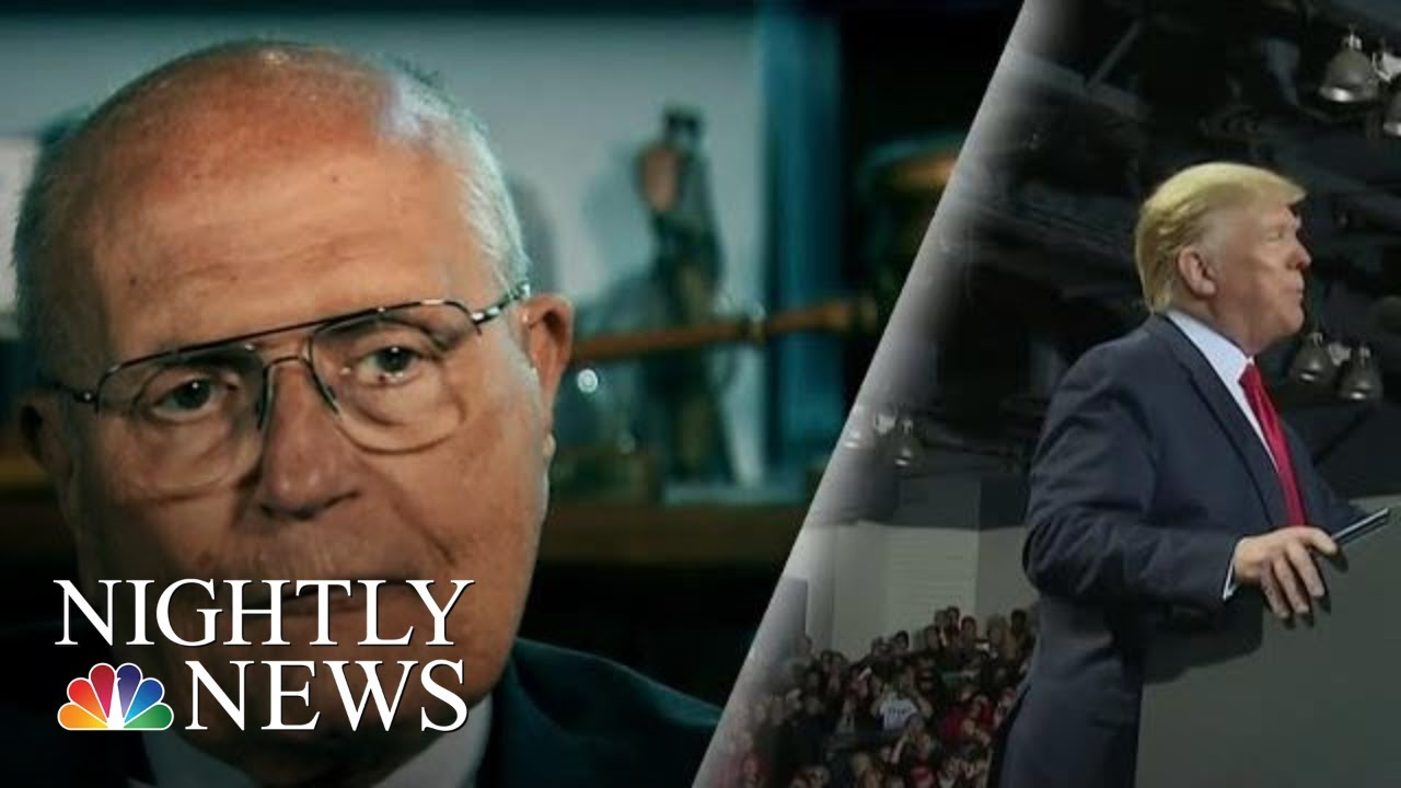 Trump Under Fire For Saying Late Rep. Debbie Dingell 'Looking Up' From Hell | NBC Nightly News