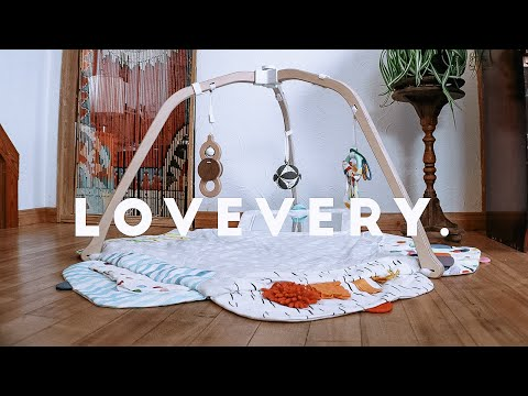 LOVEVERY  ♡  THE PLAY GYM  ♡  UNBOXING / SETUP / REVIEW