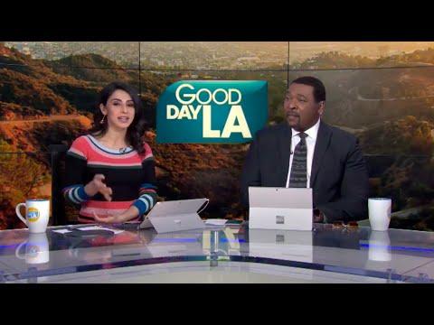 Araksya Karapetyan on Fox 11 Los Angeles Good Day L.A. | Armenian American Museum Inaugural Gala