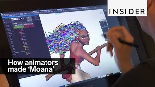"This is how animators nailed all the details in ""Moana"""