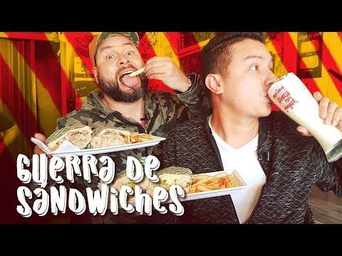 Guerra de Sándwiches | El Vagón: Sándwiches & Empanadas en Bogotá | Los Insaciables