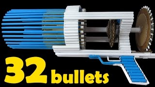 Video How To Make a Paper Gun That Shoots 32 Bullets - (Automatic Machine Gun) download MP3, 3GP, MP4, WEBM, AVI, FLV Agustus 2017