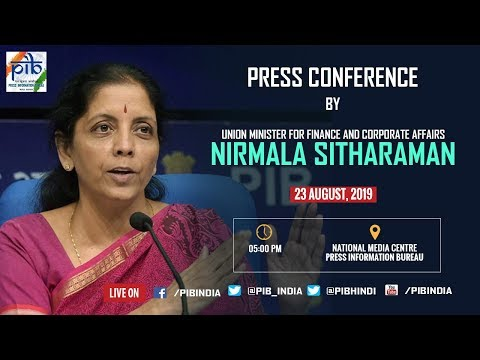Sitharaman presser LIVE updates: Finance Ministry announces rollback of enhanced surcharge on FPIs