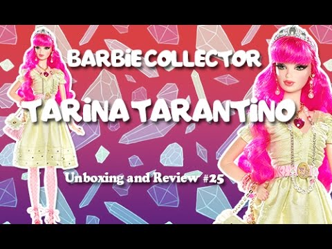 [Barbie Collector] Tarina Tarantino Barbie Doll - Unboxing and Review #25