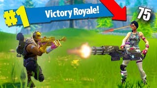 WINNING WITH THE CROSSBOW! *VICTORY ROYALE!* | Fortnite Battle Royale