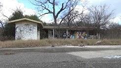News exploring an abandoned trailer park in Austin, Texas.