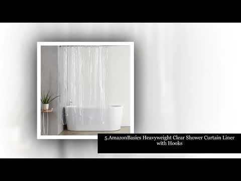 Best Shower Curtain Liner In 2018 2019 Reviews Ville