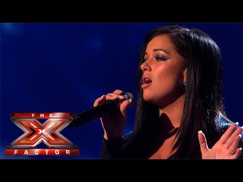 Lauren Murray takes on Mariah Carey track | Live Week 4 | The X Factor 2015