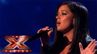 Lauren Murray takes on Mariah Carey track | Live Week 4 | The X Factor 2015