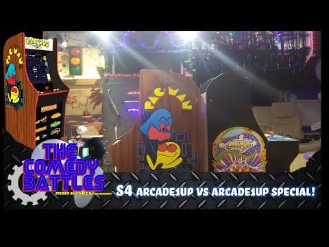 Pacman 40th Arcade1Up Galaga Battle - The Comedy Battles (s4) | Studio ShowBiz Entertainment from Studio ShowBiz Entertainment