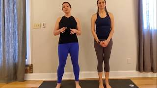 Functional Vinyasa Tips: Warrior 1 - Part 2
