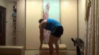 Упражнения для ног и ягодиц   2   Как накачать ноги и ягодицы в домашних условиях(Хотите набрать мышечную массу? Заходите на сайт http://ektomorf.ru/ - помощь в наборе мышечной массы. Полезная информ..., 2013-07-14T12:30:51.000Z)