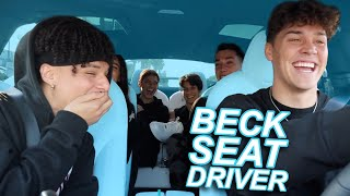 BeckSeat Driver ft. Charli, Dixie, James, Larray, & Chase