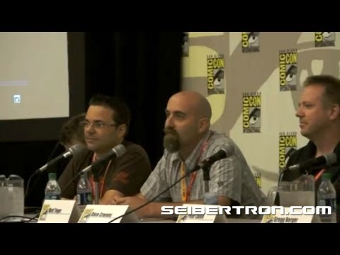 Activision Transformers Fall of Cybertron Panel featuring Video Game Talent at SDCC 2012 8\/8