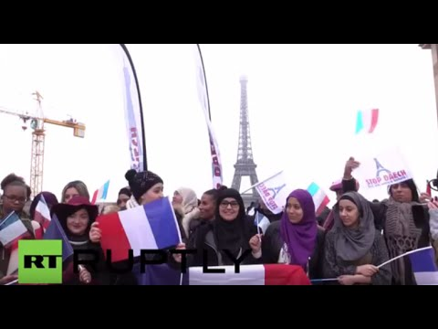 France: Muslims join anti-ISIS protest in Paris one month after attacks