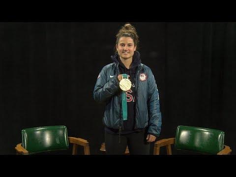 Steve Pappas interviews Amanda Pelkey, U.S. Olympian