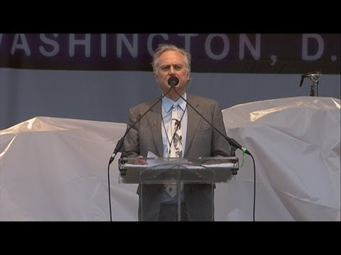 Richard Dawkins and his Foundation at the Reason Rally