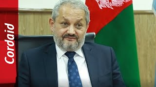 Minister of Public Health of Afghanistan on the importance of Universal Health Coverage | Cordaid