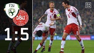 Danish Dynamite ballert sich zur WM: Irland - Dänemark 1:5 Highlights | WM-Quali | DAZN