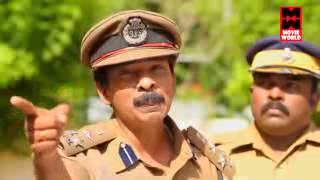 malayalam super star santhosh pandit in chiramjeevi ips.super punch dialogues[HD]
