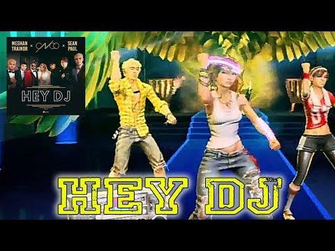 "Dance Central Fanmade - ""Hey DJ (Remix)"" CNCO, Meghan Trainor, Sean Paul  Fanmade "