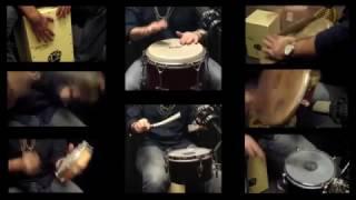Trey Macias Percussion Cover- Michael Jackson Medley