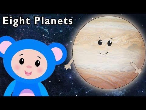 Eight Planets and More | SPACE WEEK SONGS | Baby Songs from Mother Goose Club!