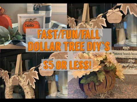 Dollar Tree DIY- $5 or Less- Farmhouse Decor-Budget DIY Decor