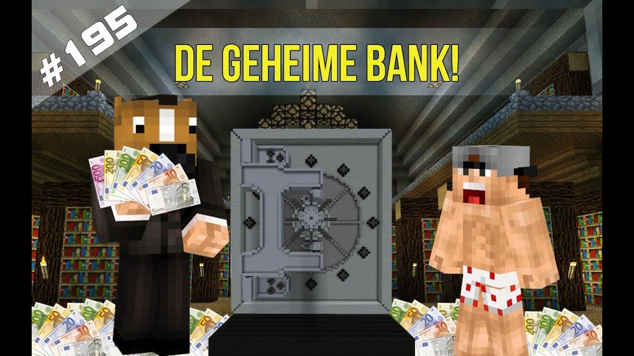Minecraft Survival DE GEHEIME BANK YouTube - Minecraft geheime hauser