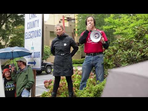 Lane County Aerial Spray Ban Signatures Gathered
