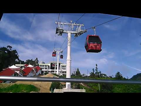 New Awana Skyway Gondola Cable Car Genting Highlands~Riding Up To 6000 Feet!