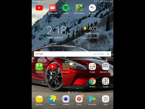 How To Download Pictures From Google And Set Aside Wallpaper On Samsung Galaxy  Tab A