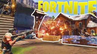 Fortnite - Co-op Base Defense & High-tiered Missions - Fortnite PC Gameplay Highlights