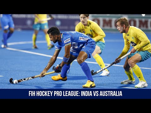FIH Hockey Pro League Highlights: India Vs Australia