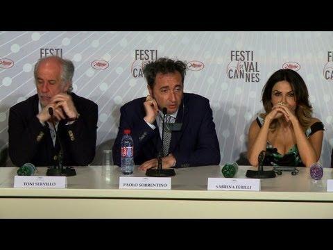 Cannes: conférence de presse du film de Paolo Sorrentino