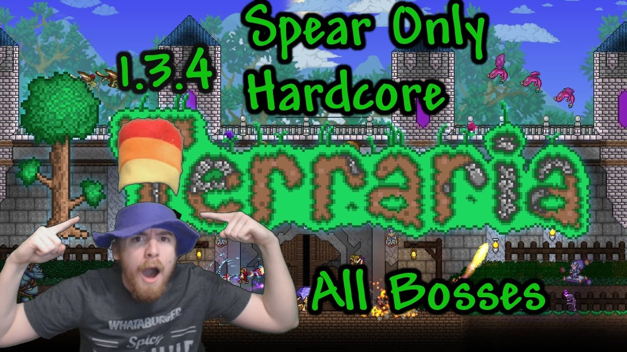 how to make a spear in terraria