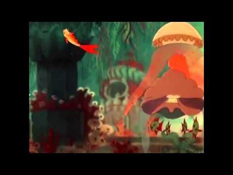 Сказка о рыбаке и рыбке, золотая рыбка, сказки Пушкина mp4