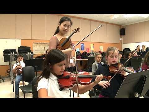World Class Violinist Visits Palm Beach Public