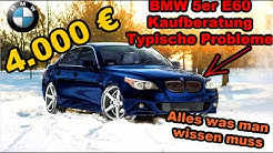 BMW 5er E60 Kaufberatung Typische Probleme | G Performance