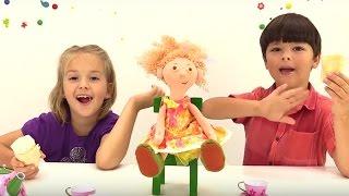 Игра для детей: овощной суп и мороженое из Плей До