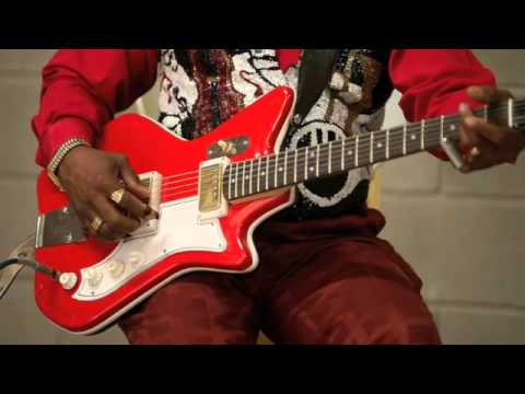 Lil' Ed's Res-O-Glas Guitar - Chicago Blues Slide Guitar - Lil' Ed and the Blues Imperials