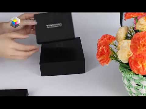 Yilucai Customized Black Gift Box Manufacturer  Gift Boxes Factory Wholesale