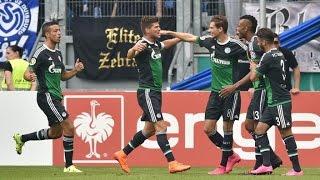 MSV Duisburg 0 - 5 Schalke 04 - DFB Pokal - Resumen del partido y todos los goles