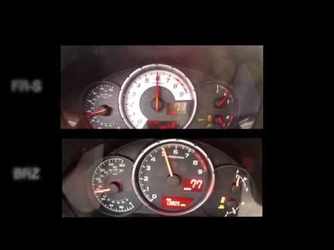 TURBO BRZ vs. STOCK FR-S 0-60 AND ACCELERATION