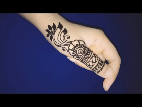 Stylish Easy New Fashion Mehndi Designs Henna Design Easy Mehndi Designs For Hands Youtube