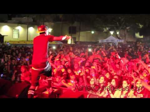 Big Sean Performs Mercy at FIU
