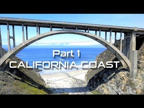 CALIFORNIA COAST (BIG SUR & HIGHWAY 1) DRONE VIDEO - PART 1