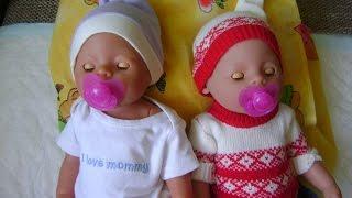 Играюсь с куклами BABY BORN